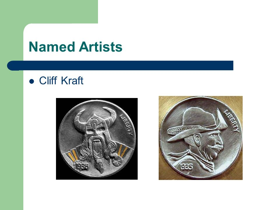 Named Artists Cliff Kraft