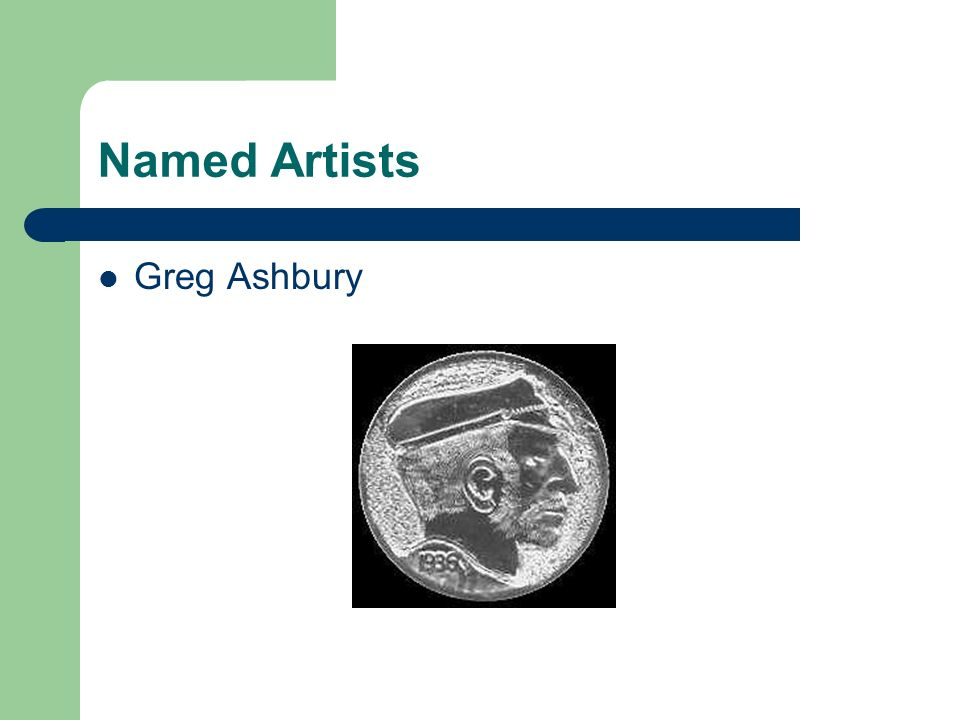 Named Artists Greg Ashbury