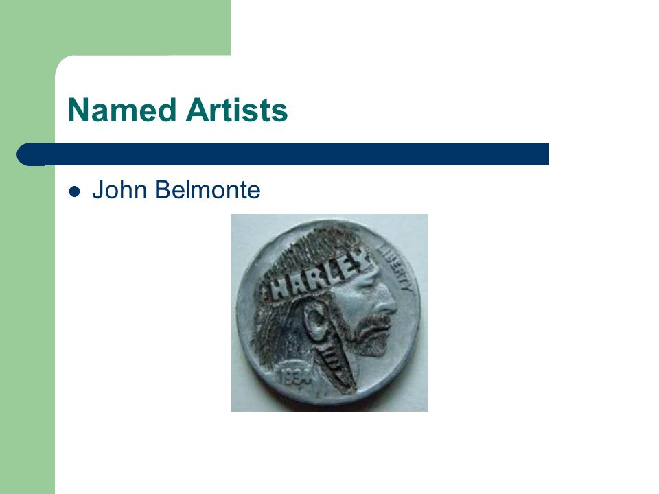 Named Artists John Belmonte