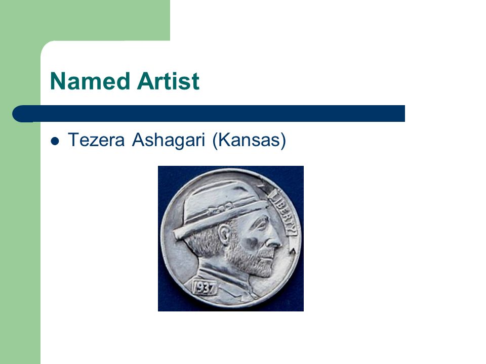 Named Artist Tezera Ashagari (Kansas)