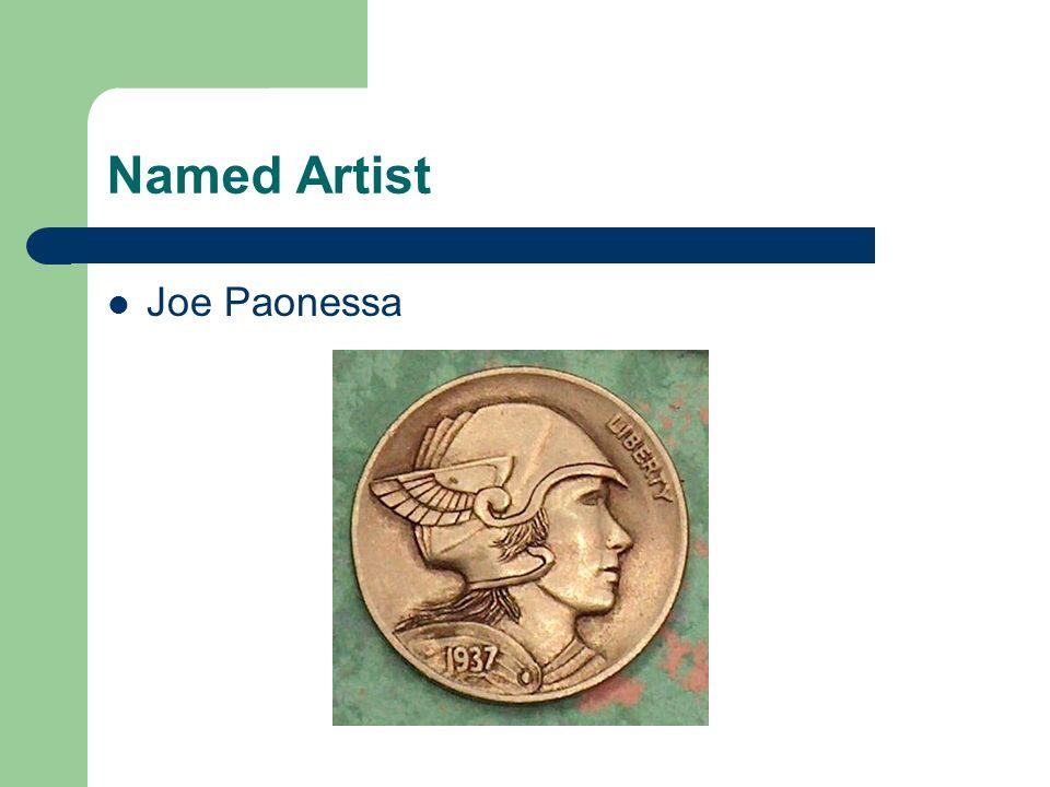 Named Artist Joe Paonessa