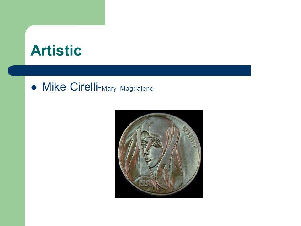 Artistic Mike Cirelli-Mary Magdalene