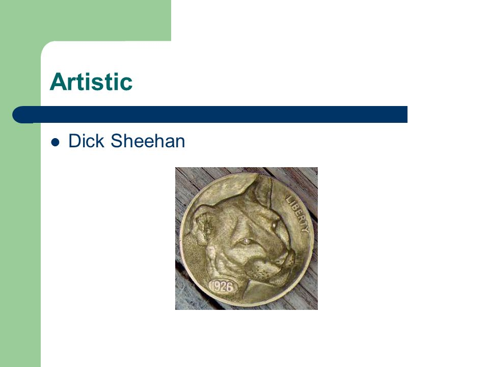 Artistic Dick Sheehan