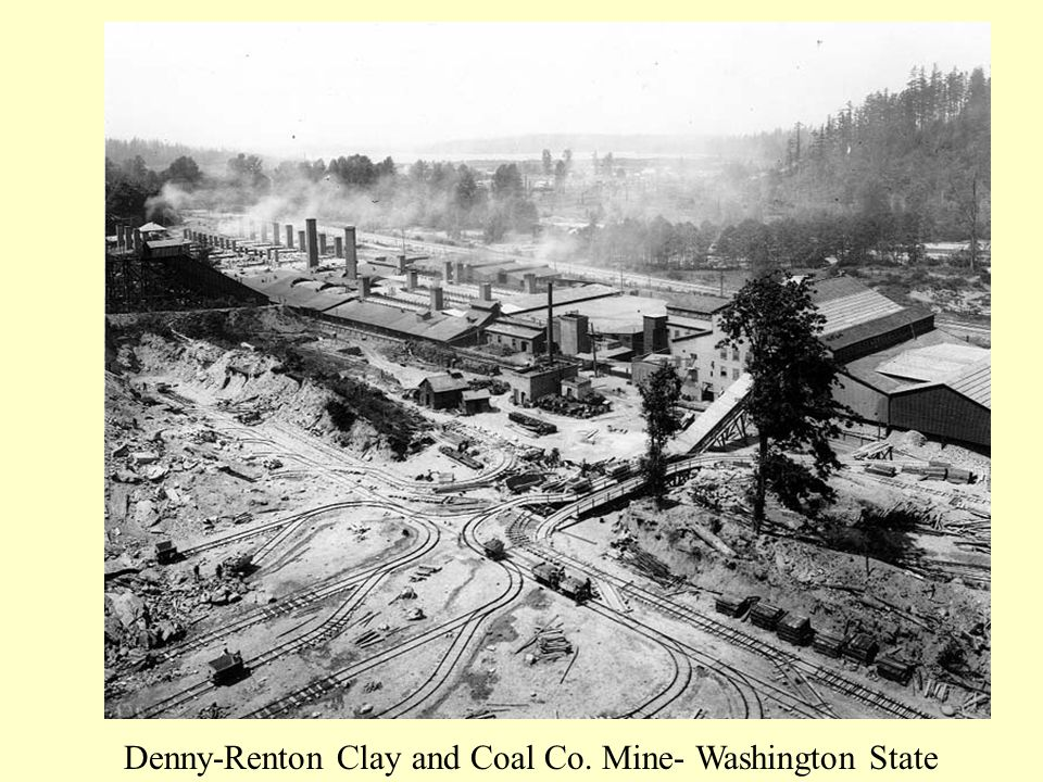 Denny-Renton Clay and Coal Co. Mine- Washington State
