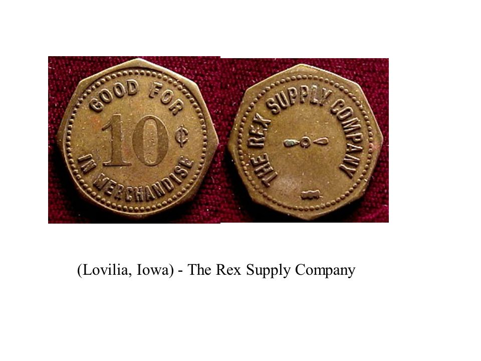 (Lovilia, Iowa) - The Rex Supply Company