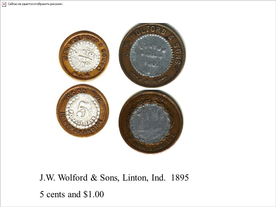 J.W. Wolford & Sons, Linton, Ind. 1895