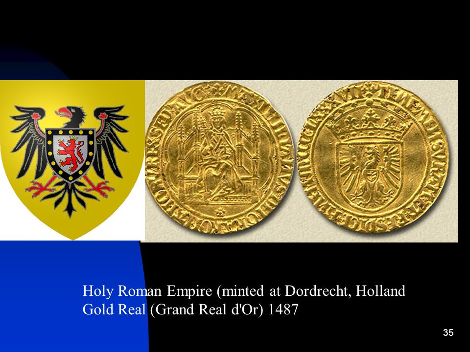 Holy Roman Empire (minted at Dordrecht, Holland