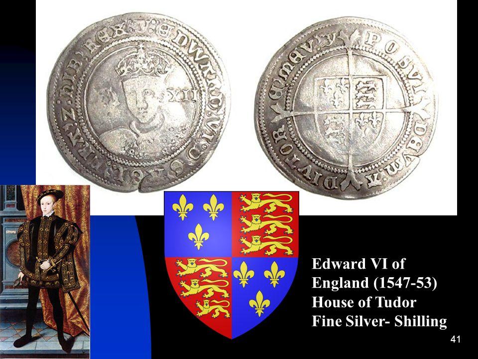 Edward VI of England (1547-53)