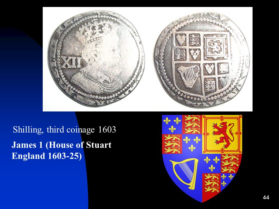 Shilling, third coinage 1603