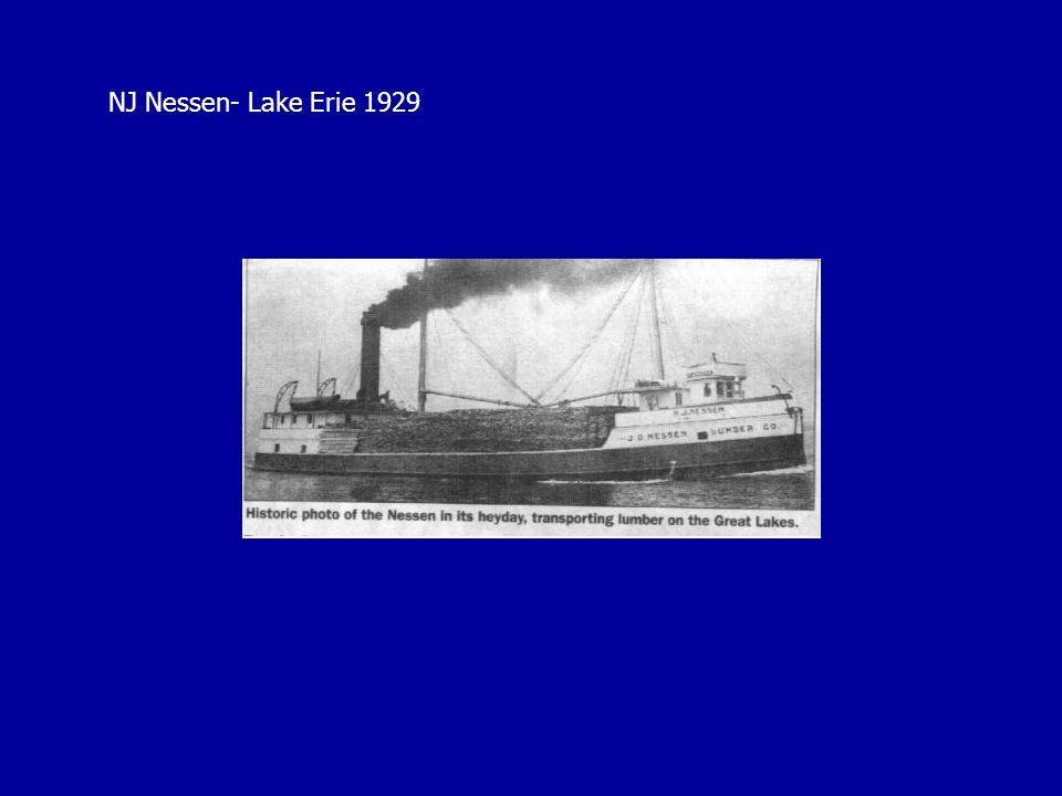 NJ Nessen- Lake Erie 1929