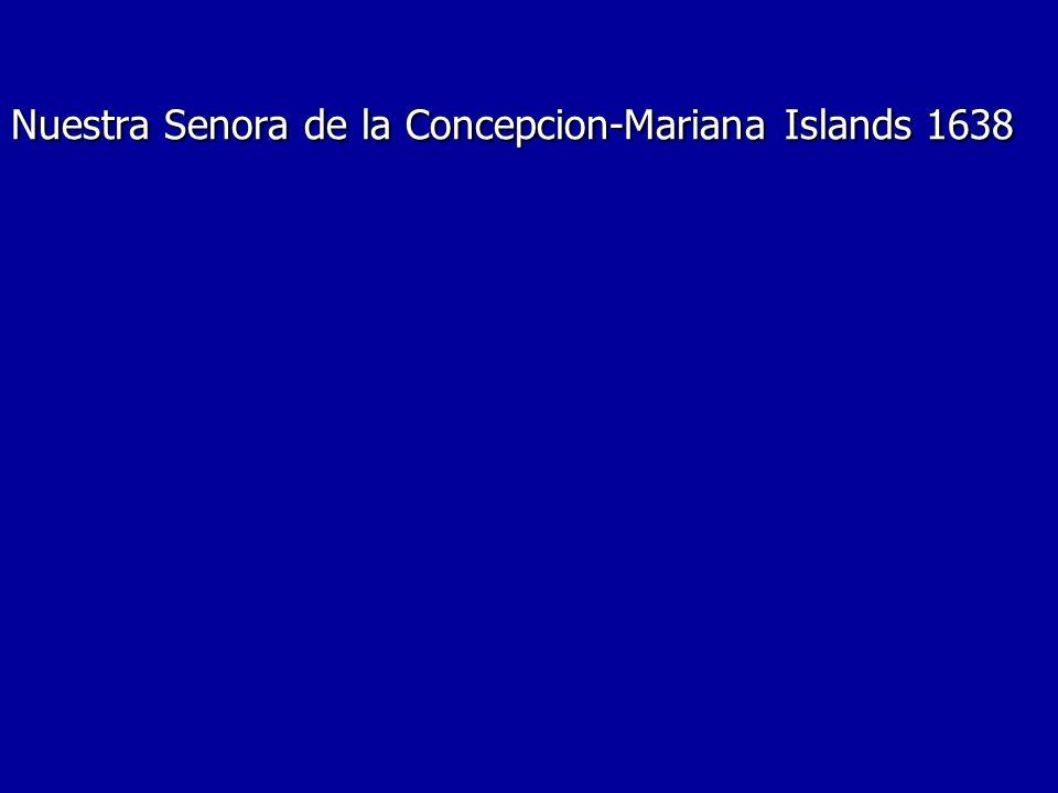 Nuestra Senora de la Concepcion-Mariana Islands 1638