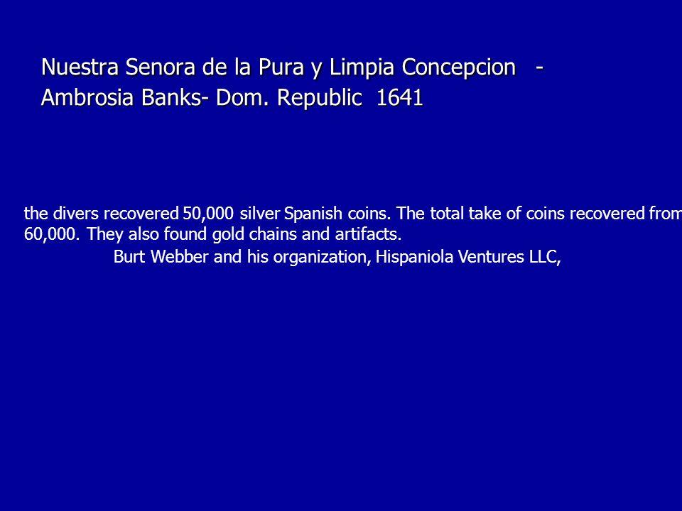 Nuestra Senora de la Pura y Limpia Concepcion - Ambrosia Banks- Dom