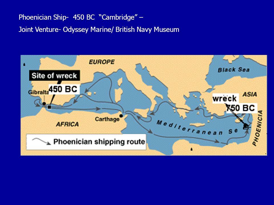 Phoenician Ship- 450 BC Cambridge –