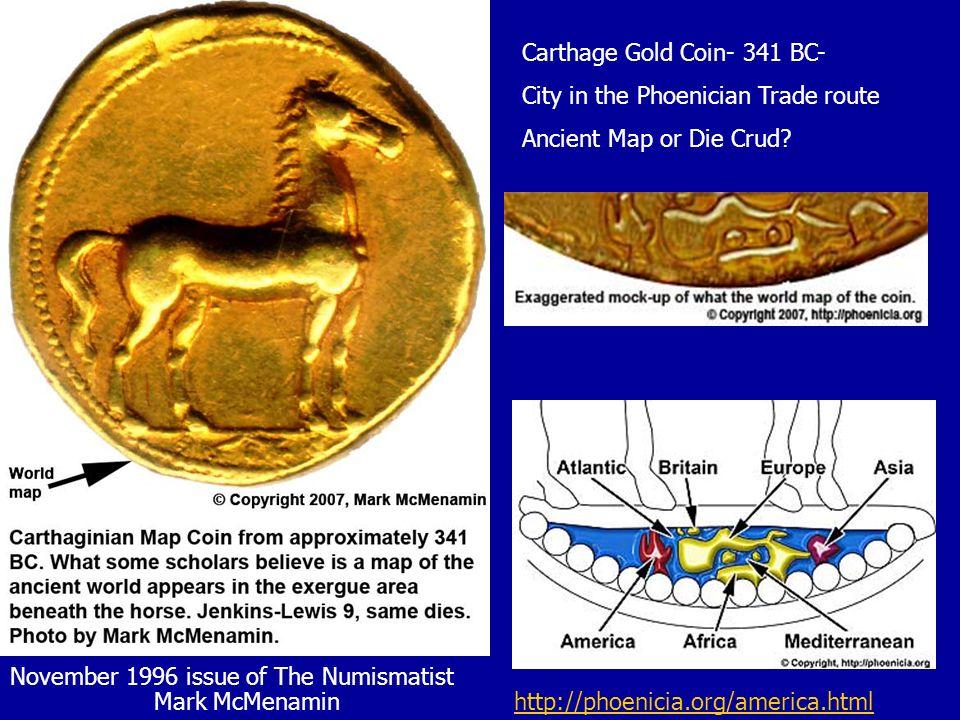 Carthage Gold Coin- 341 BC-