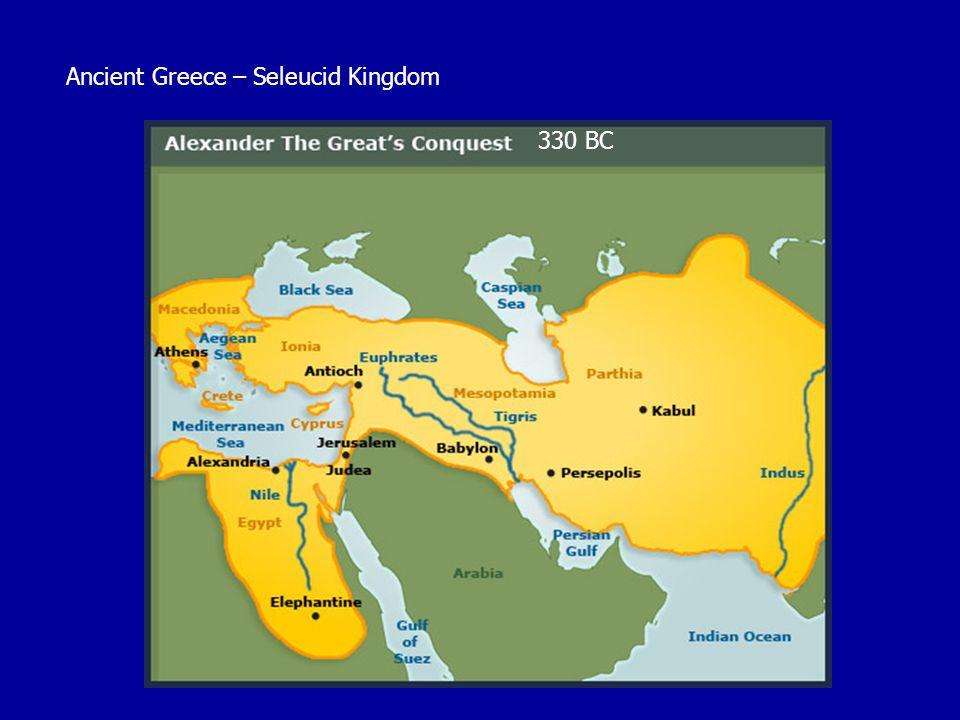 Ancient Greece – Seleucid Kingdom