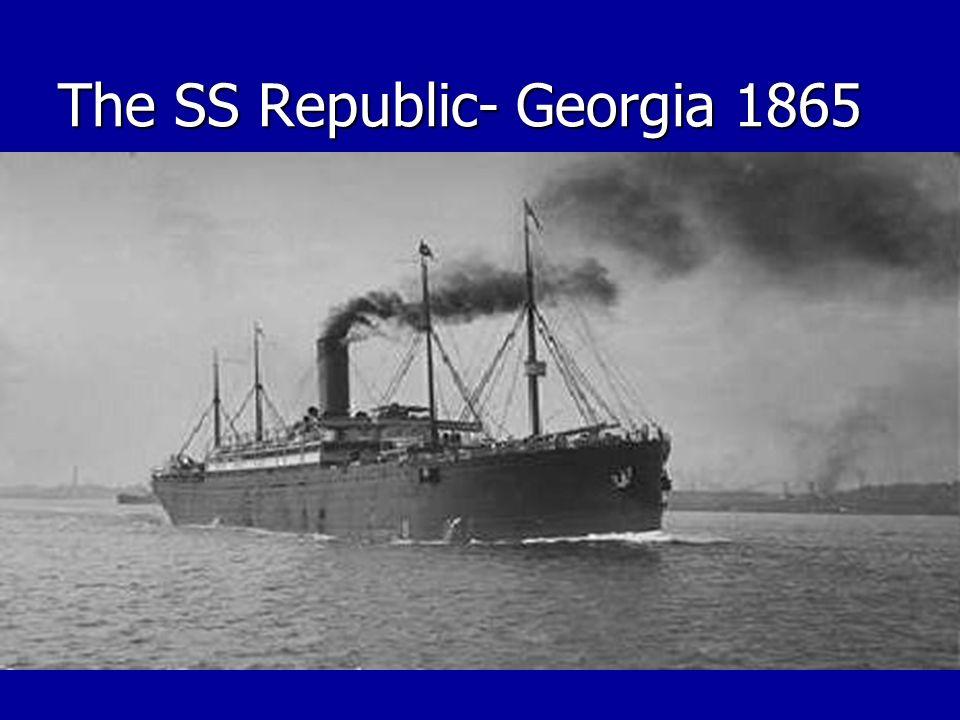 The SS Republic- Georgia 1865