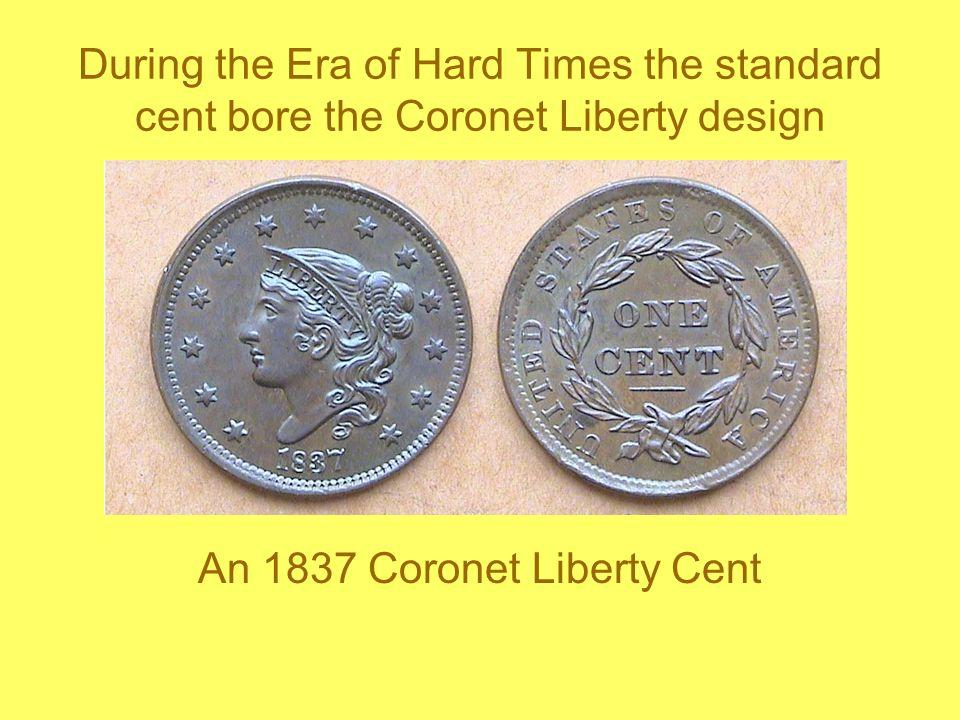 An 1837 Coronet Liberty Cent