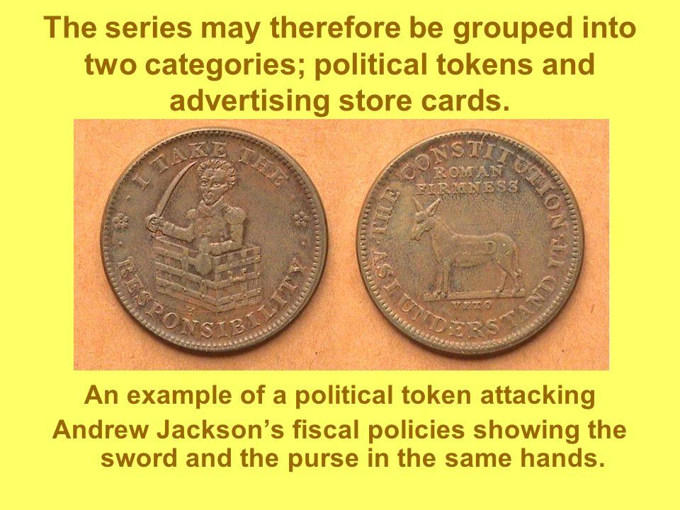 An example of a political token attacking