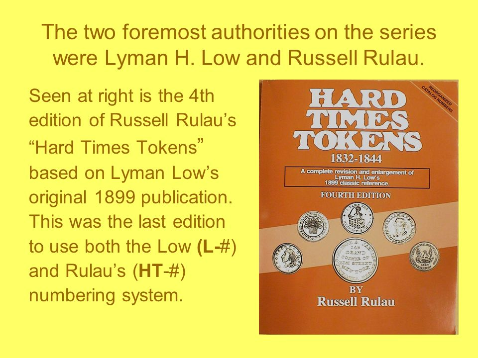 The two foremost authorities on the series were Lyman H