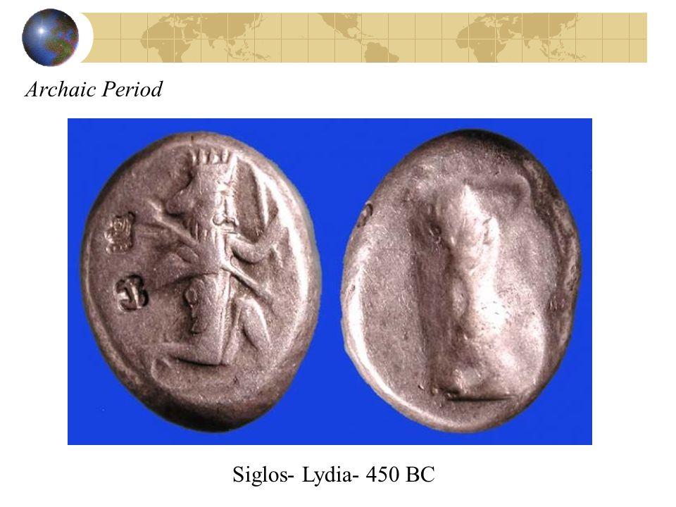 Archaic Period Siglos- Lydia- 450 BC