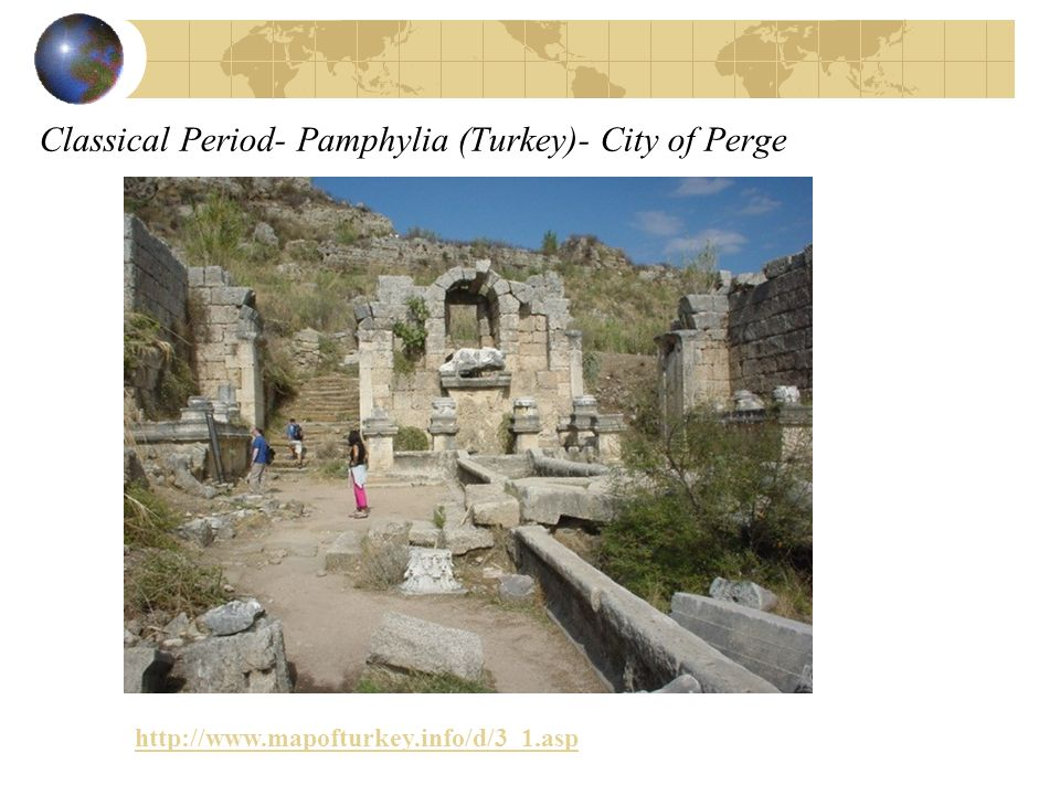 Classical Period- Pamphylia (Turkey)- City of Perge