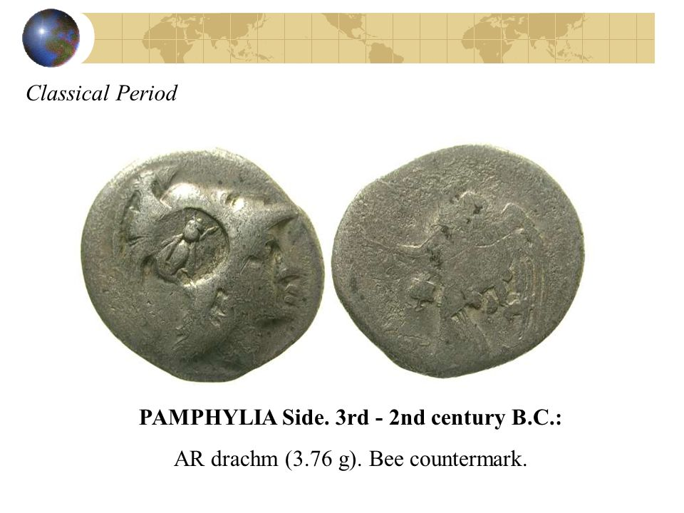 PAMPHYLIA Side. 3rd - 2nd century B.C.: