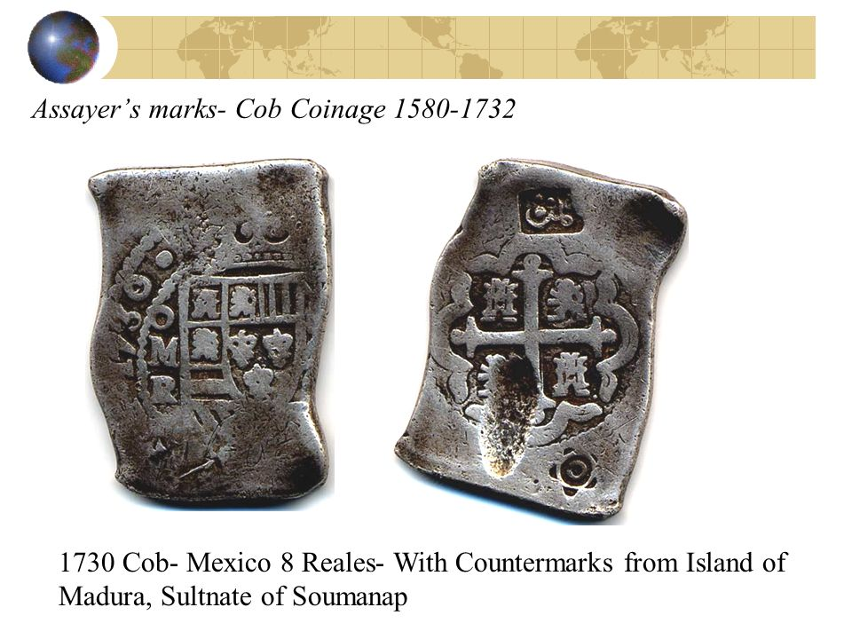 Assayer's marks- Cob Coinage 1580-1732