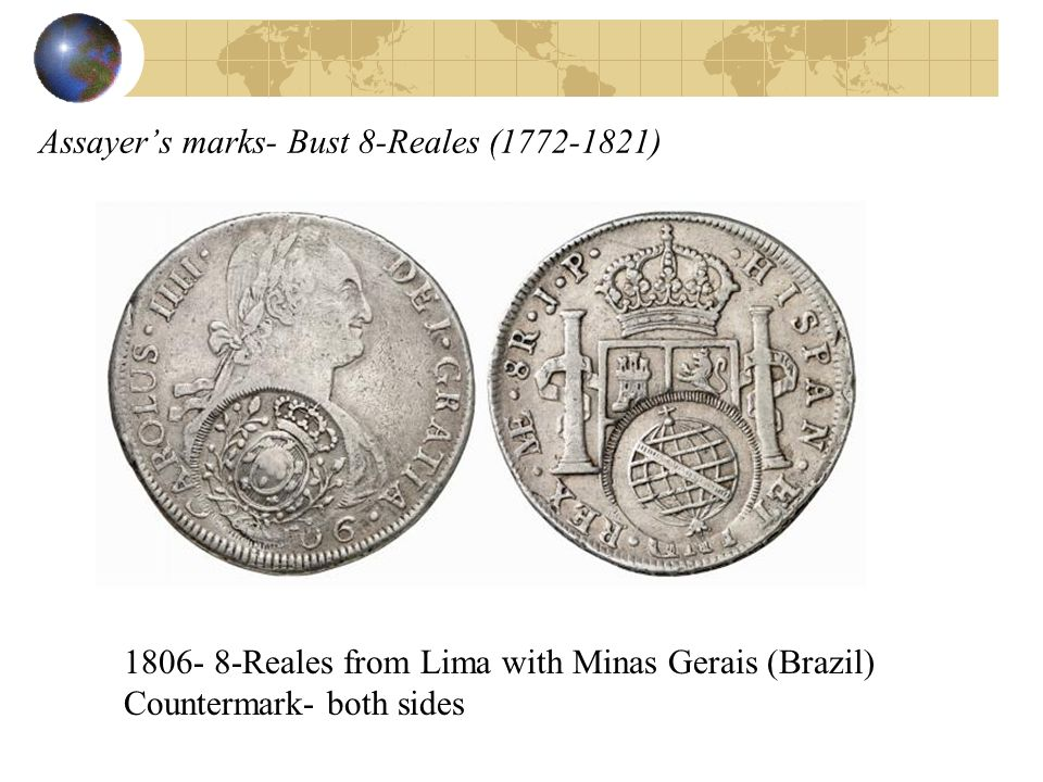 Assayer's marks- Bust 8-Reales ( )