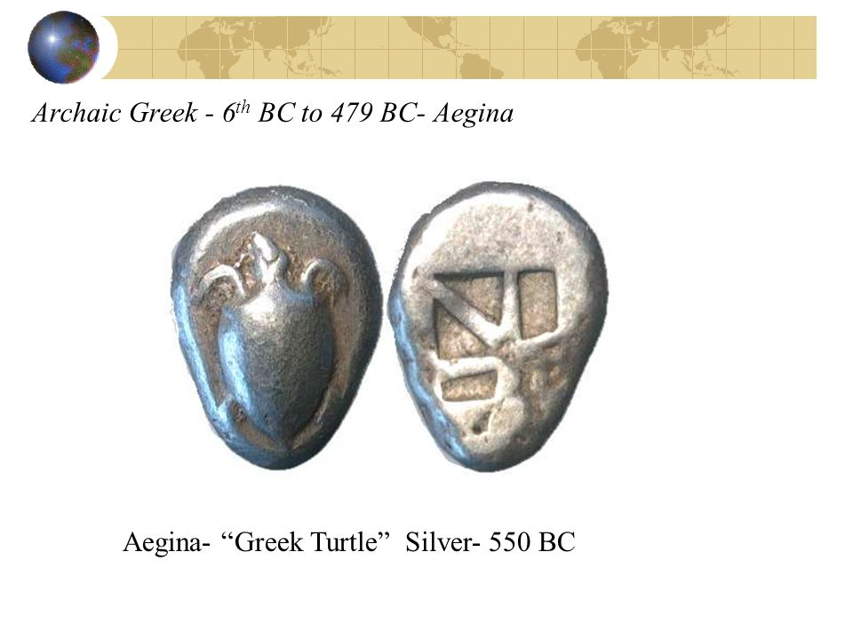 Archaic Greek - 6th BC to 479 BC- Aegina