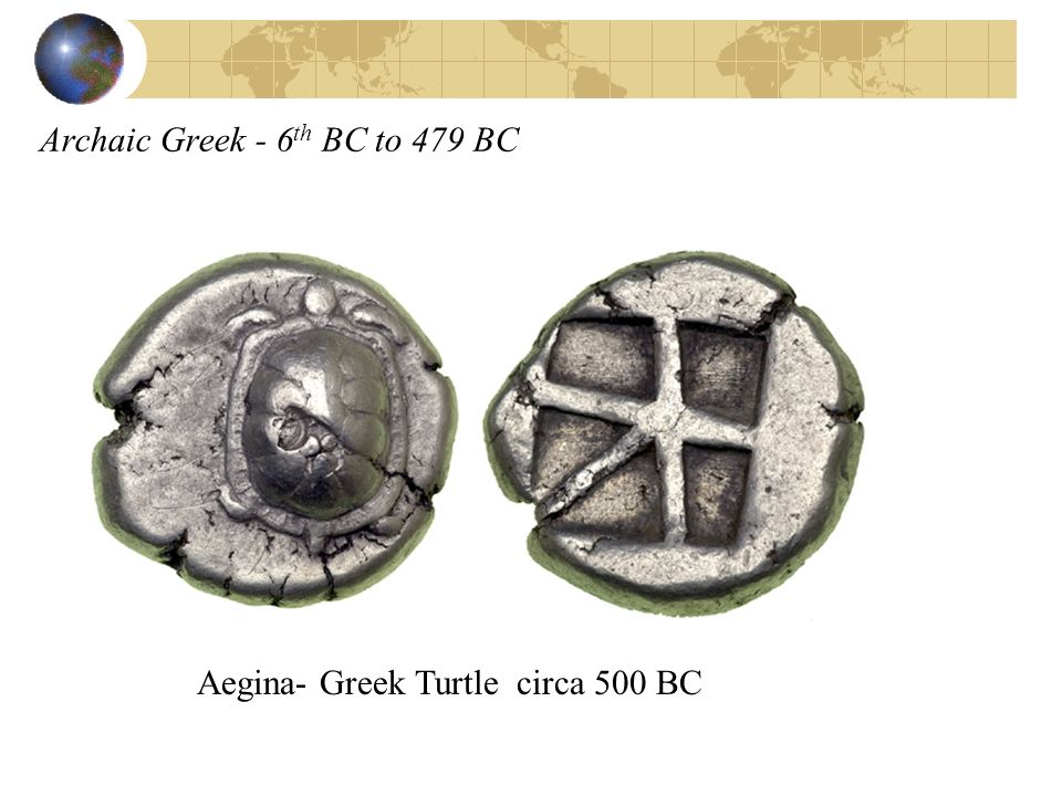 Archaic Greek - 6th BC to 479 BC