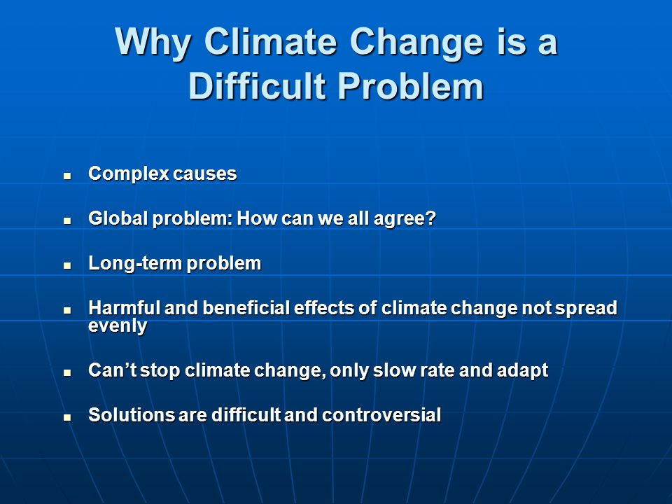 If Climate Change Is Natural Can We Stop It