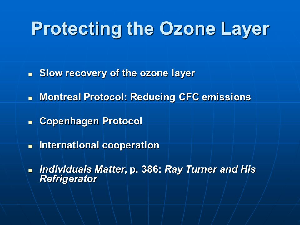 thesis statement on the ozone layer Thesis statement on the ozone layer - whenever you feel that your essay misses something, you can send us a free revision request, and your writer will provide all the corrections.