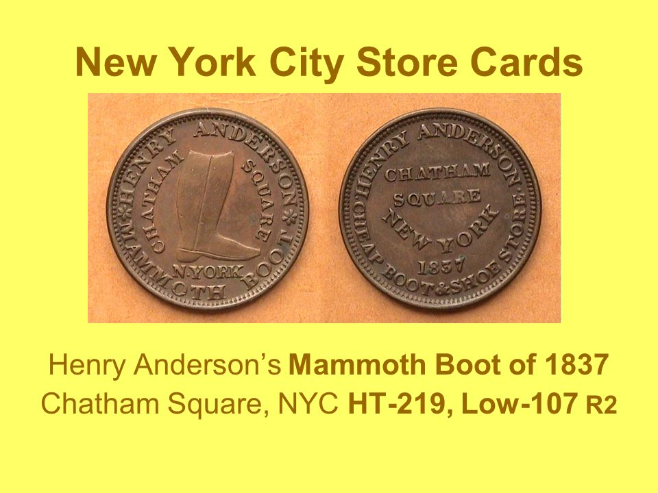 New York City Store Cards