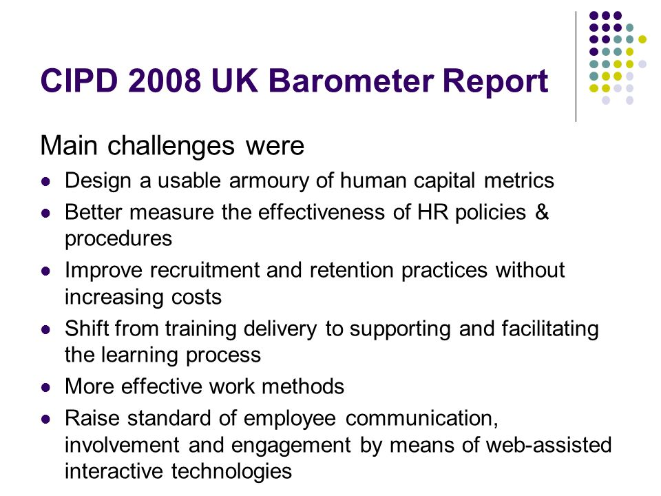 cipd report the value of learning cipd assessment report – foundation cipd report the value of learning essay 2 the value of learning key challenges for value and evaluation.
