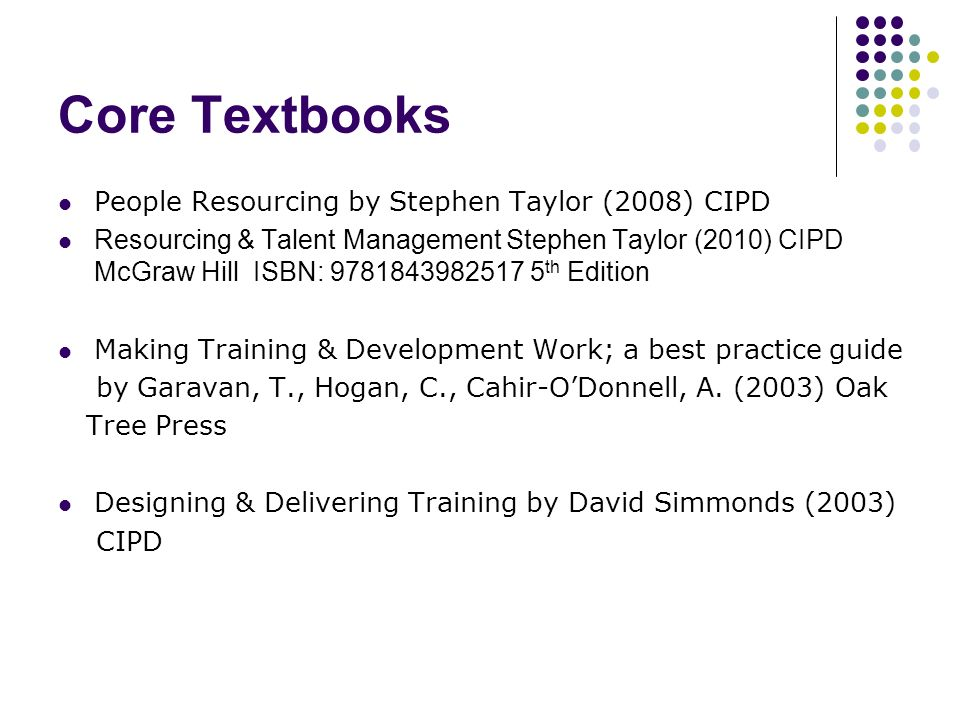 employee training and development 5th edition pdf