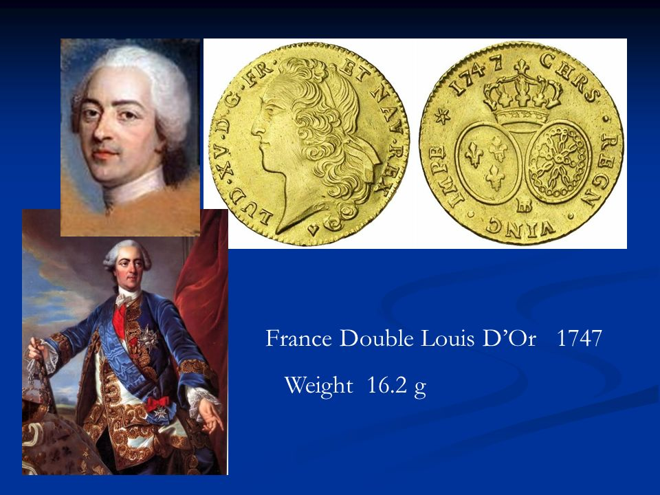 France Double Louis D'Or 1747