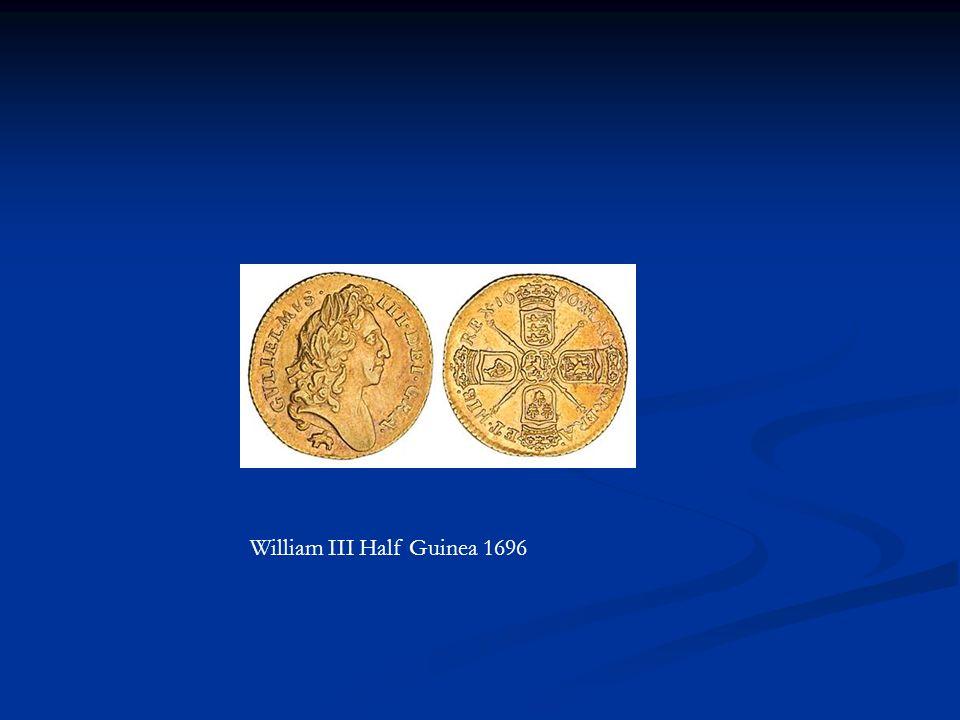William III Half Guinea 1696