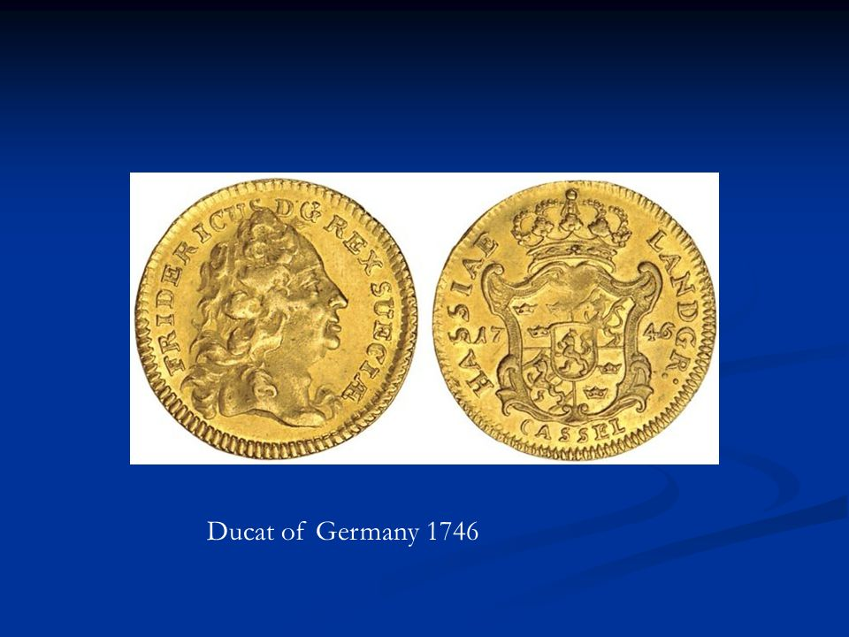 Ducat of Germany 1746