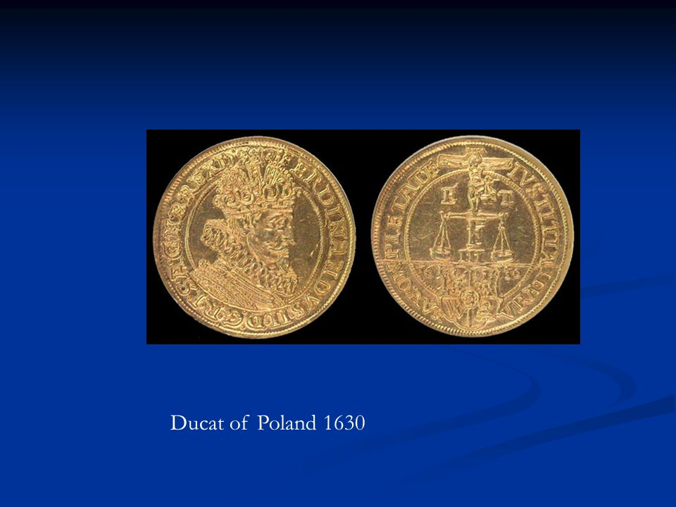 Ducat of Poland 1630