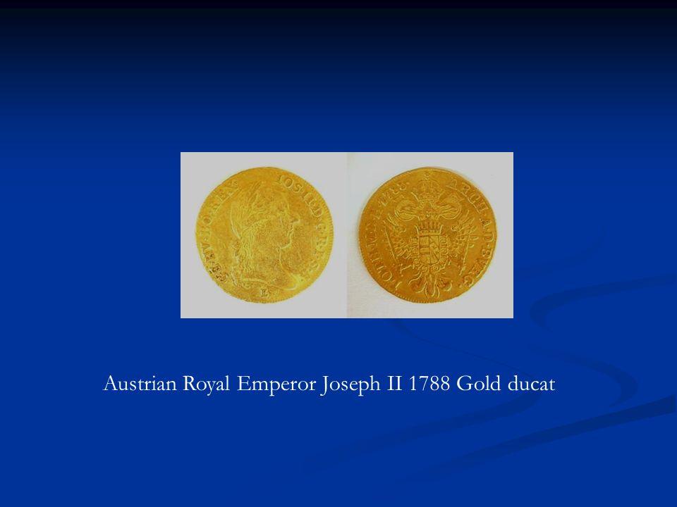 Austrian Royal Emperor Joseph II 1788 Gold ducat