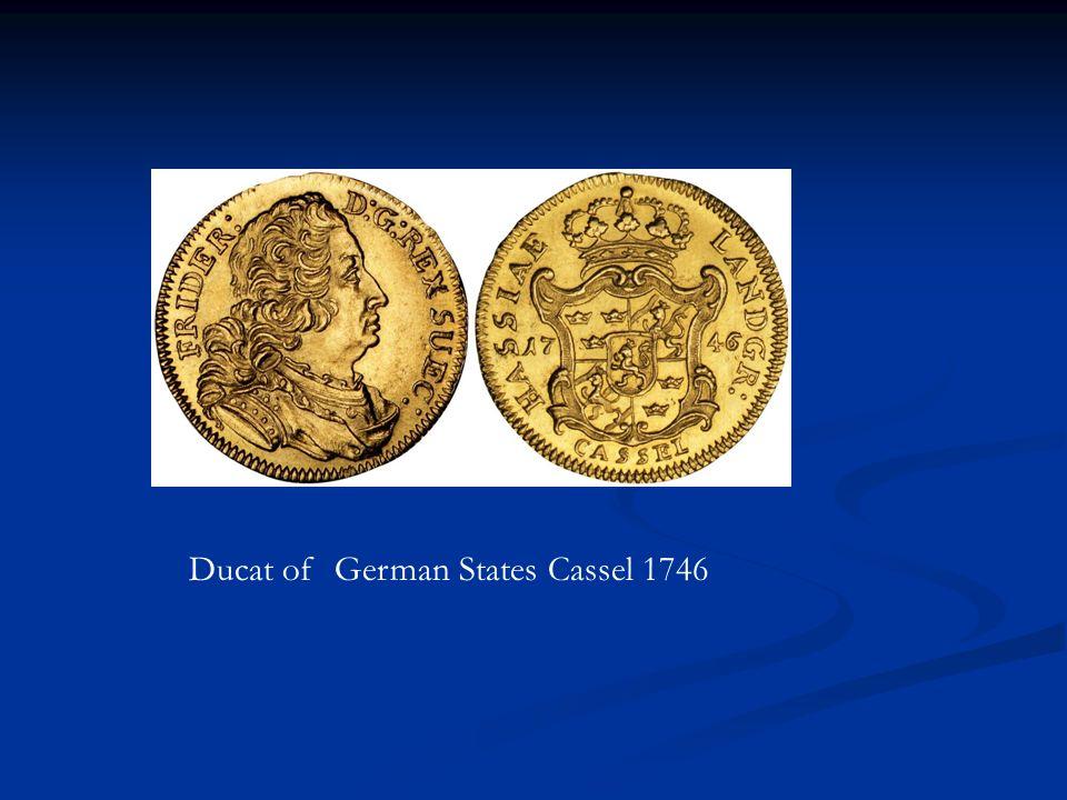 Ducat of German States Cassel 1746