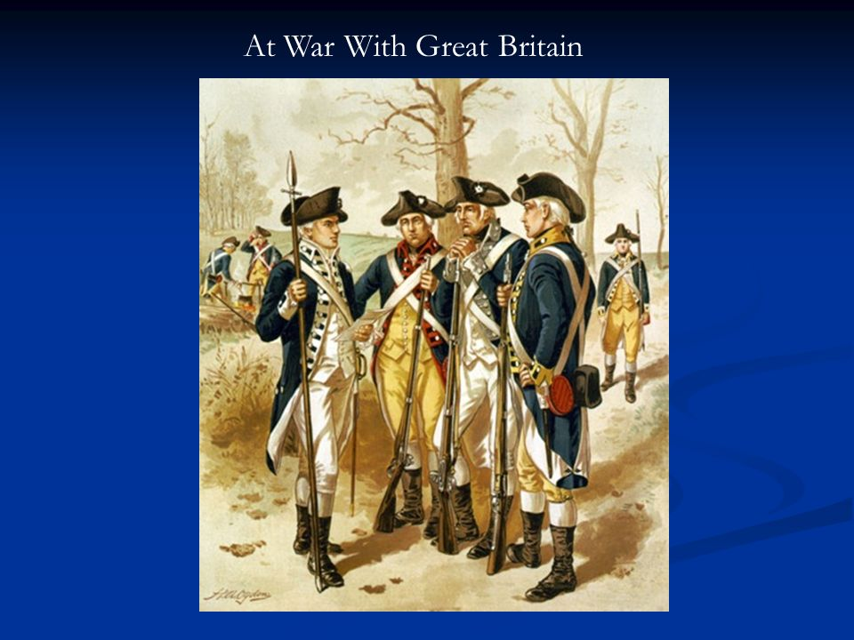 At War With Great Britain