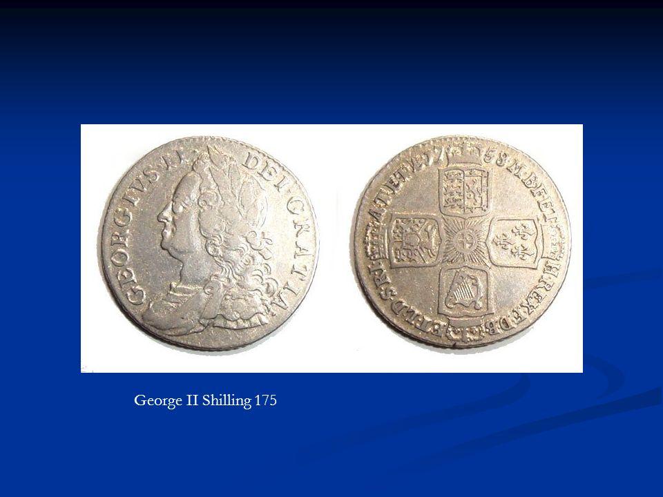 George II Shilling 175