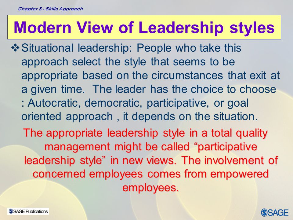 choice of leadership styles You should know all of the options and pick the best leadership style based on each particular situation  that's because being a hero isn't a style choice, it's an outcome of doing what.