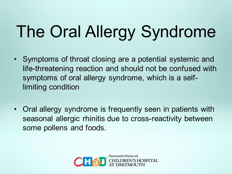 Food Allergies In Infants And Children Ppt Video Online