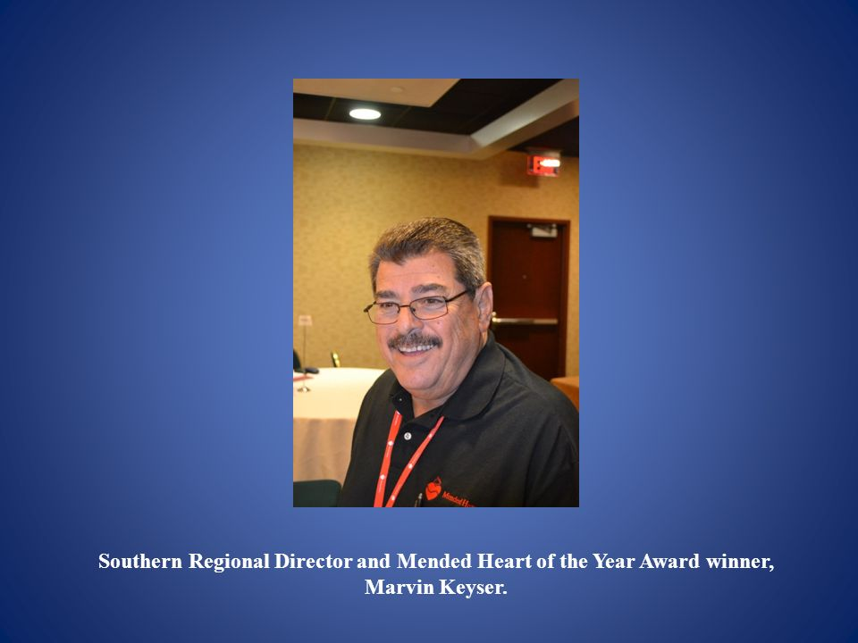 Southern Regional Director and Mended Heart of the Year Award winner,