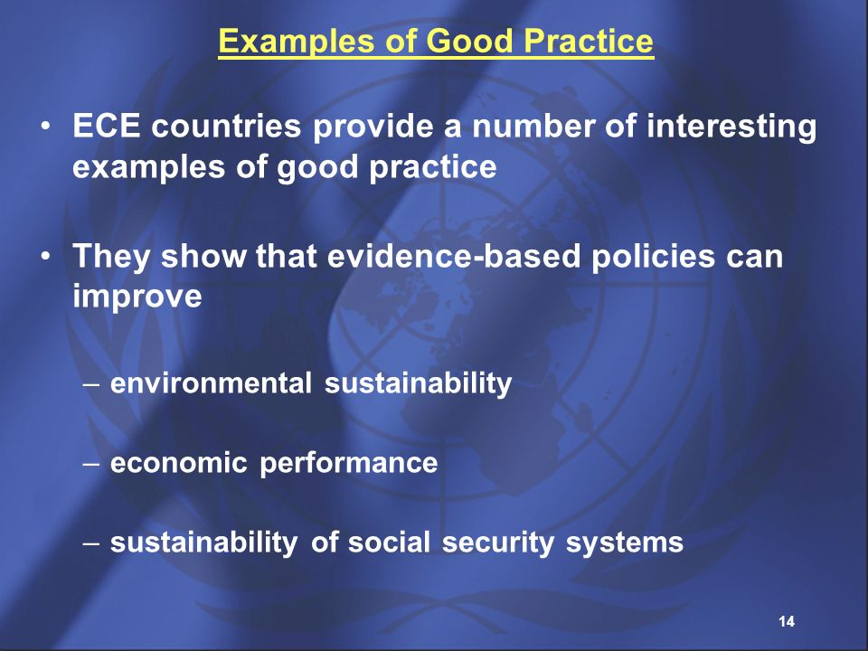 Examples of Good Practice