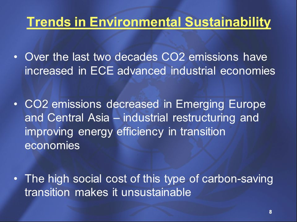 Trends in Environmental Sustainability