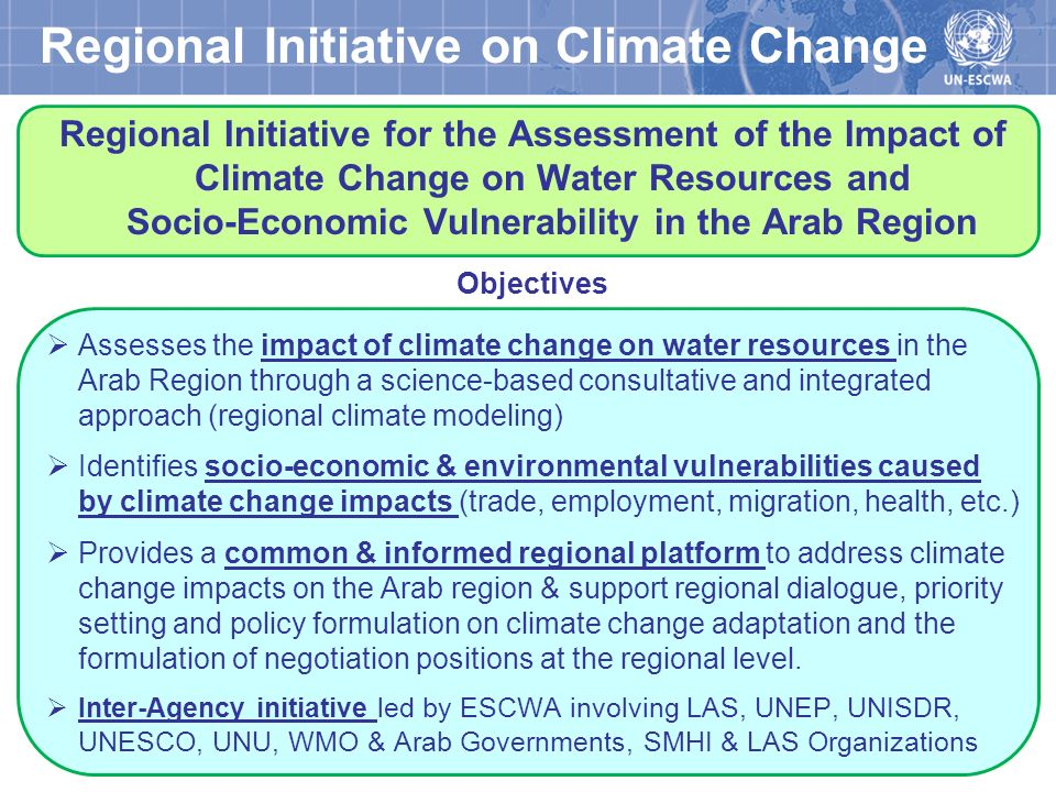 Regional Initiative on Climate Change