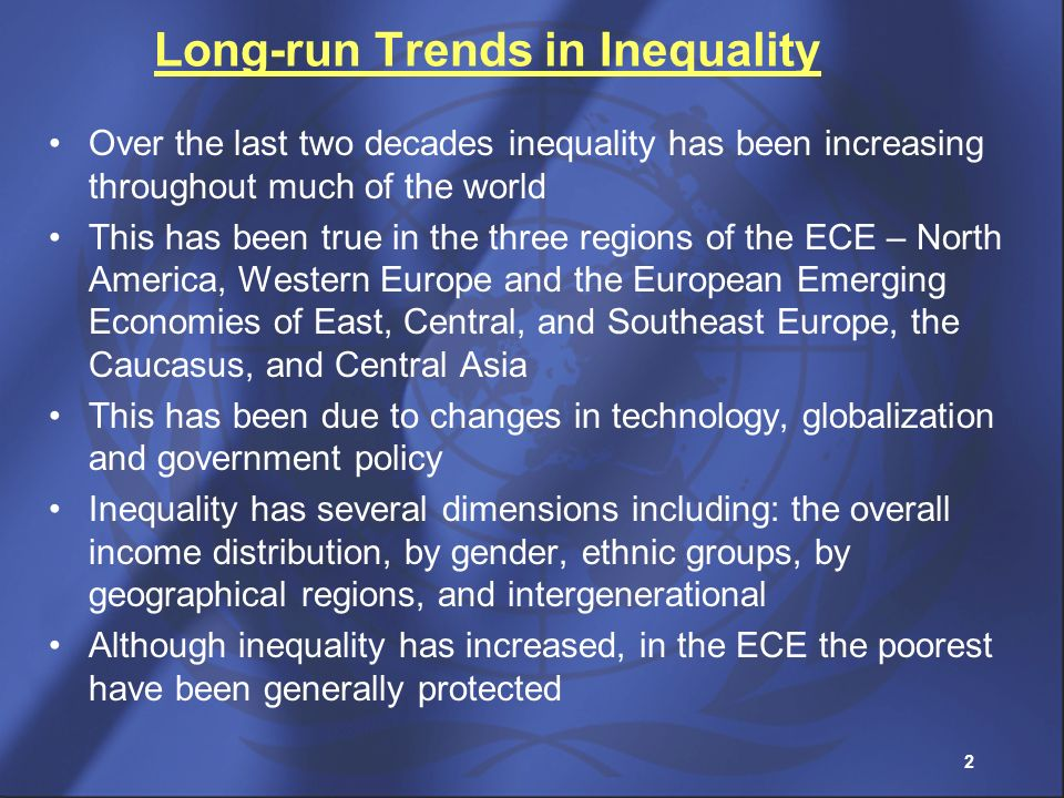 Long-run Trends in Inequality